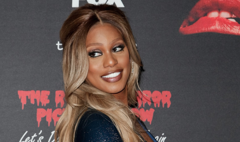 "Fox just released Laverne Cox singing ""Sweet Transvestite"" from the new Rocky Horror, and we can't stop listening"