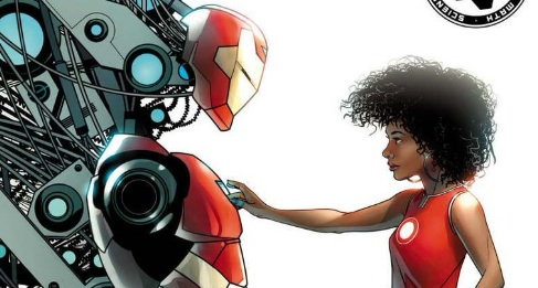 We just found out more about the new female Iron Man, and YASSS