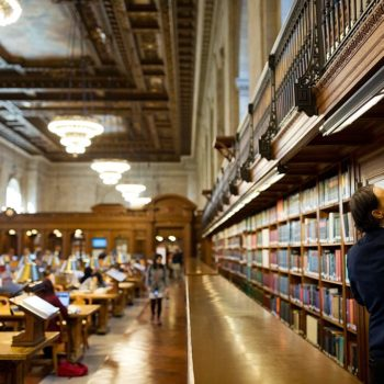 Watching these NYC librarians shelve 52,000 books in two minutes in the most soothing thing ever