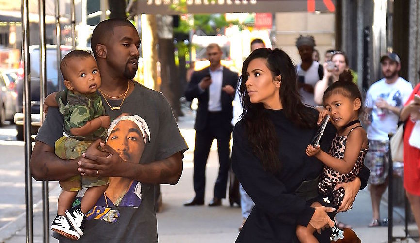 This photo of North West smiling exactly like her dad Kanye West is adorable
