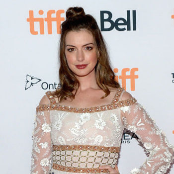 Anne Hathaway just changed up her hair color for autumn and we're falling hard