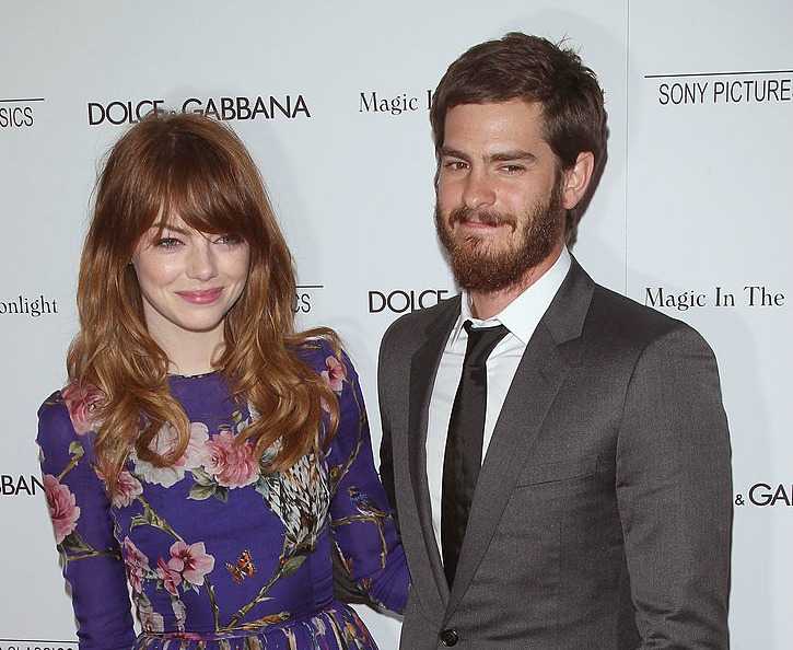 Emma Stone is so beautifully mature about her ex, Andrew Garfield