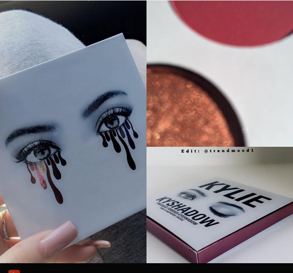 Happy Friday: Kylie Jenner bestowed us with a sneak peek of new Kyshadows
