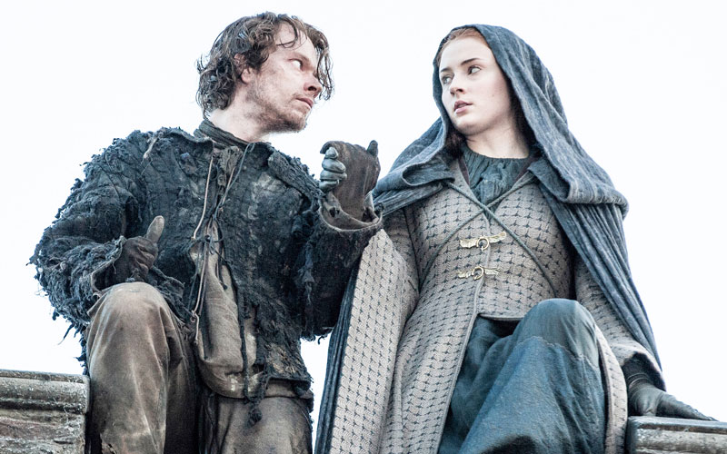"Sophie Turner posted the loveliest ""Game of Thrones"" reunion photo with Alfie Allen, aka Theon Greyjoy"