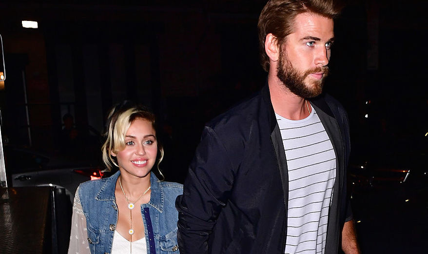 Miley Cyrus and Liam Hemsworth are total #CoupleGoals at Variety's Power of Women event