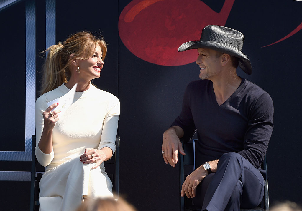 Faith Hill left Tim McGraw the sweetest surprise for their anniversary, and they're still our favorite couple