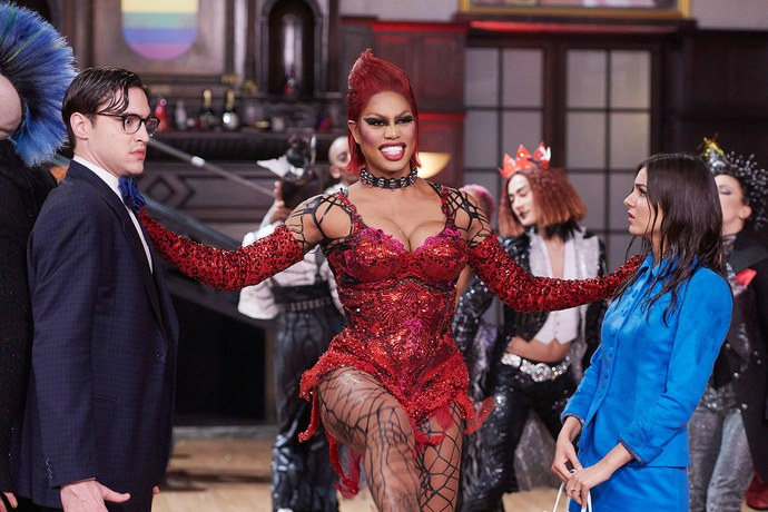 """Laverne Cox has an important message about the song """"Sweet Transvestite"""" from """"Rocky Horror"""""""