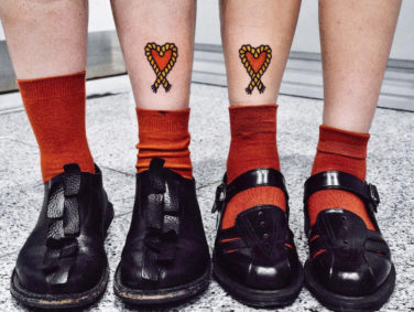 These cartoon-style tattoos are seriously an edgy dream come true