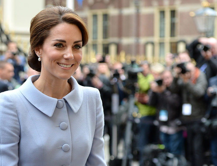 What happens when Duchess Kate Middleton takes a trip solo? We'll tell you: HATS and ROBOTS everywhere!