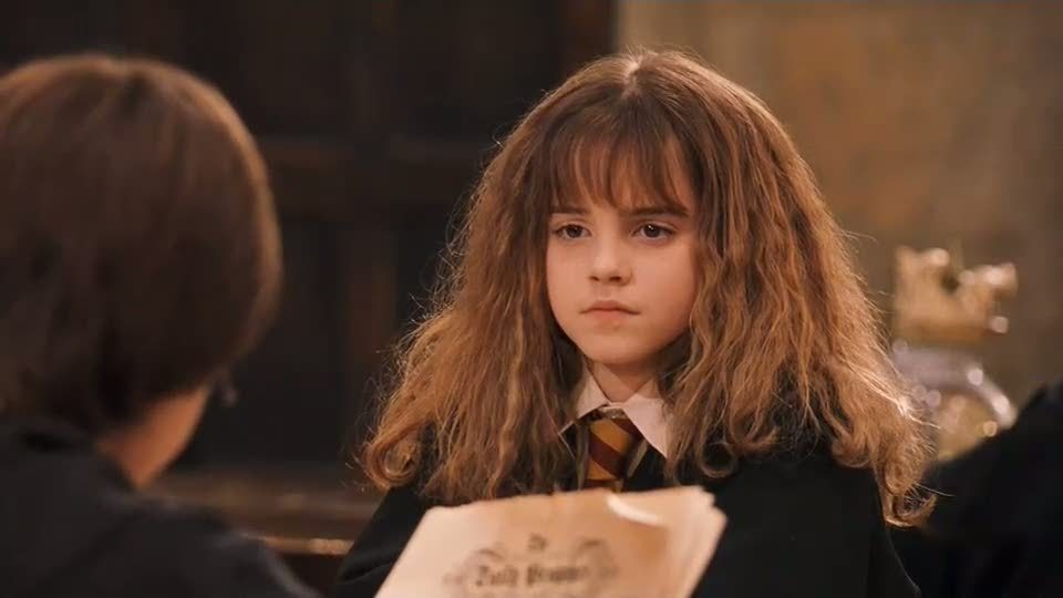 "Emma Watson wore fake teeth for one scene in the first ""Harry Potter"" movie, but did you catch it?"