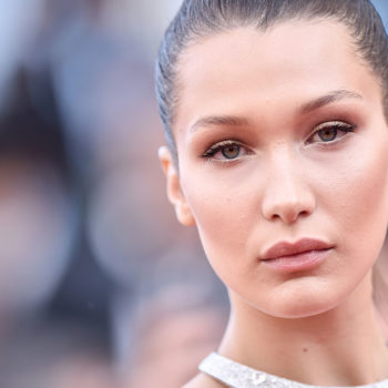 Bella Hadid just showed us how to transition sports bras as tops to fall, and we're taking notes