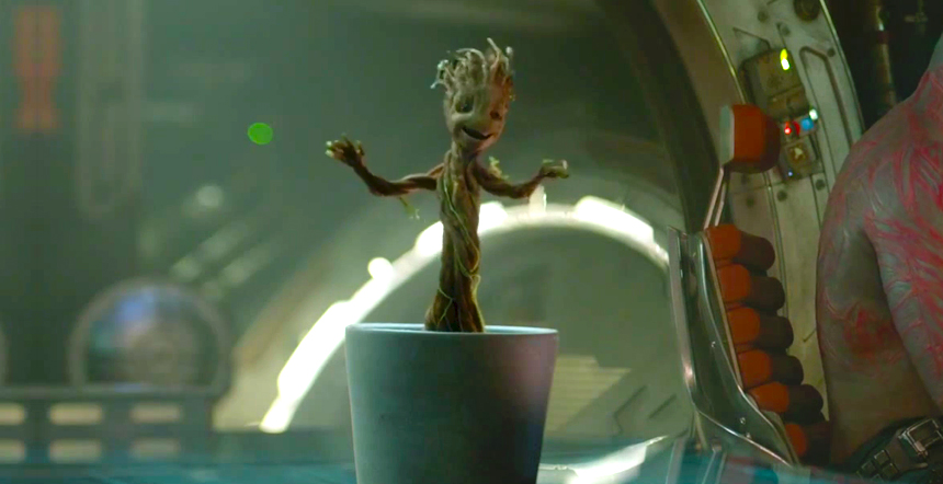 "Vin Diesel says Baby Groot will be ""goofy and adorable"" in ""Guardians of the Galaxy 2,"" and our hearts almost can't take it!"