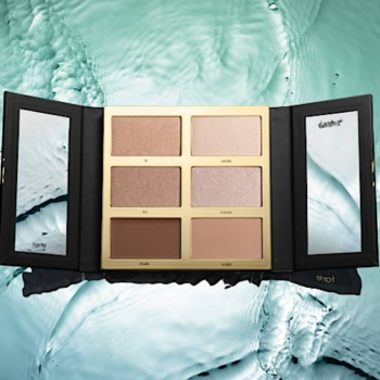 Tarte's new highlighting and contour palette is going to give your cheeks some serious glow