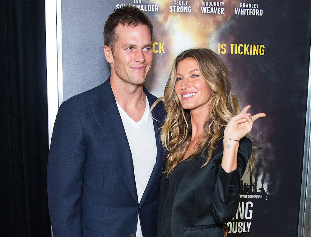 Gisele's pic of her daughter watching hubby Tom Brady play football is too sweet
