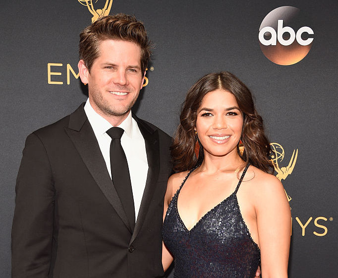 America Ferrera and her husband were officially the most adorable couple over the weekend