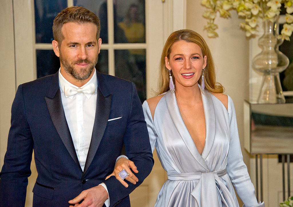 Blake Lively made a rare appearance on Ryan Reynolds' Instagram and they're legit #familygoals