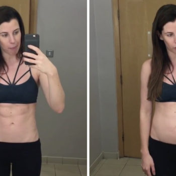 This fitness Instagrammer uses a video of her six-pack to prove that photos can be deceiving