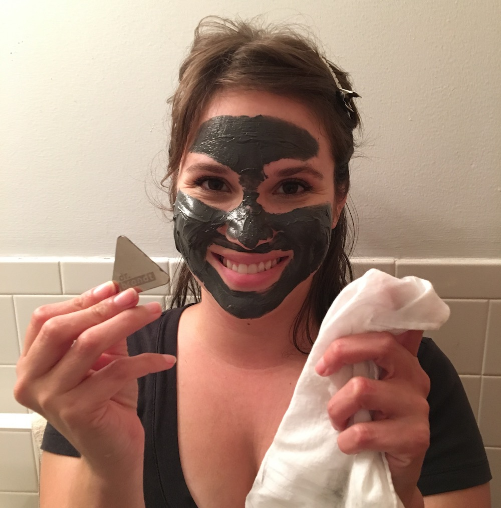 We tried a luxe magnetic face mask and this is what happened
