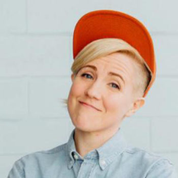 "We talked to Hannah Hart about her new memoir, ""Buffering"""