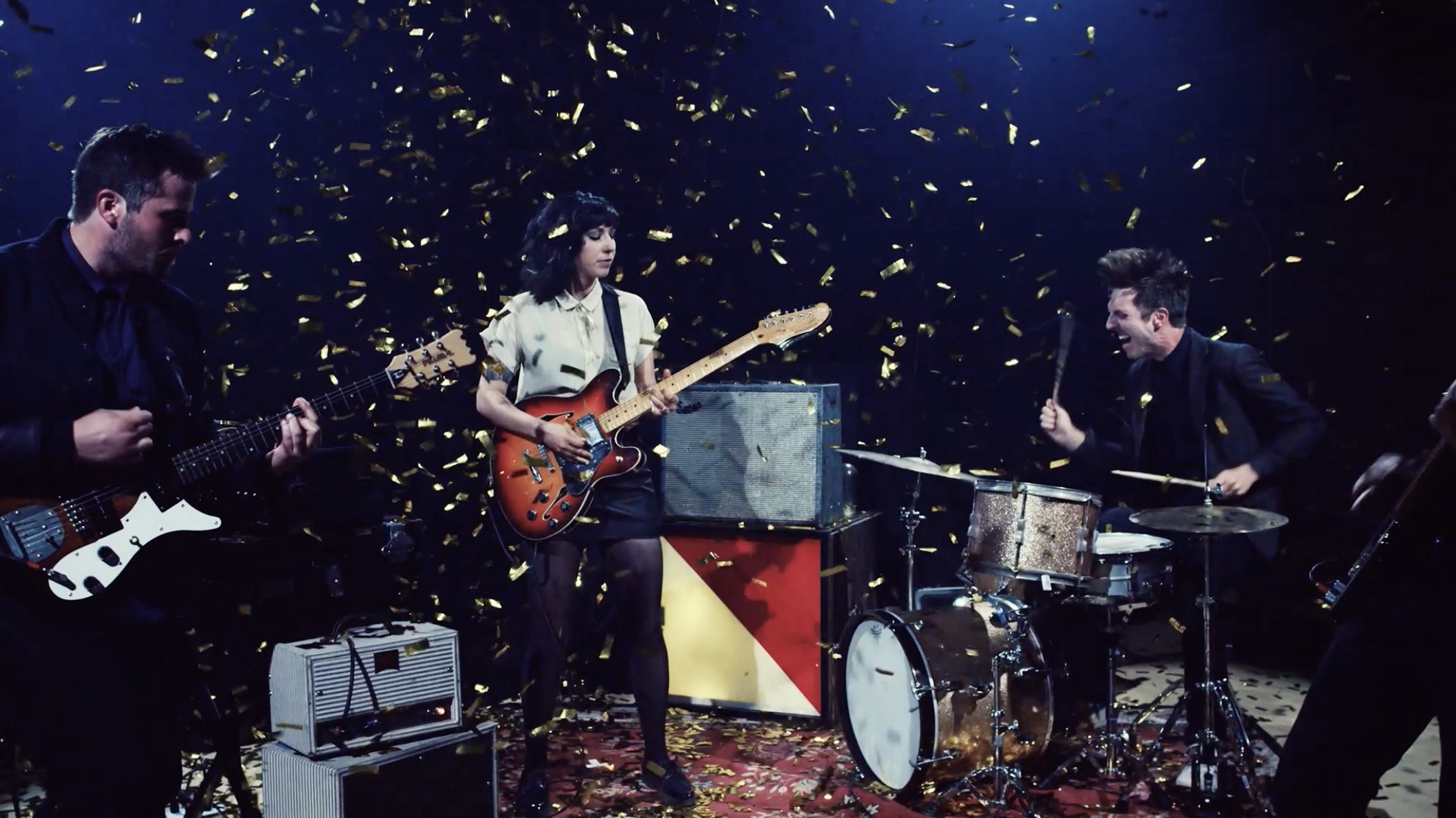 The girl from The Shins has her own band, and their latest music video is awesome AF