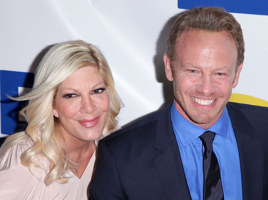 Tori Spelling had a mini-90210 reunion, and we think it's so fun