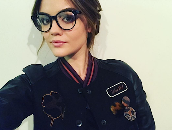 Lucy Hale's animal print shoes are EVERYTHING, so obviously we want to get some for ourselves