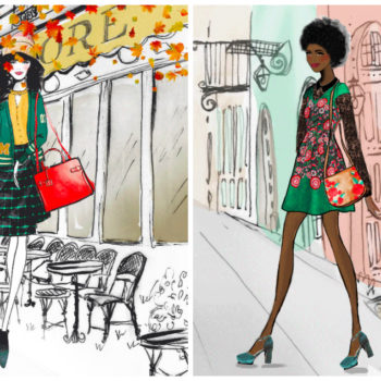 These illustrated outfits will give you serious wardrobe inspiration for fall