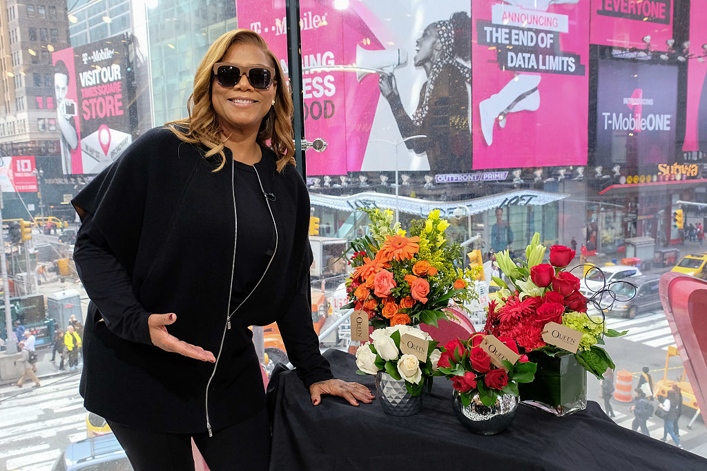 Stop everything: Queen Latifah just came out with her very own flower delivery service