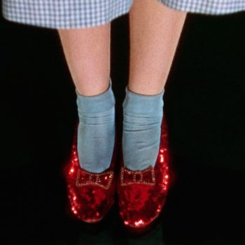 """The Smithsonian just launched a Kickstarter to save Dorothy's ruby slippers from """"The Wizard of Oz""""!"""