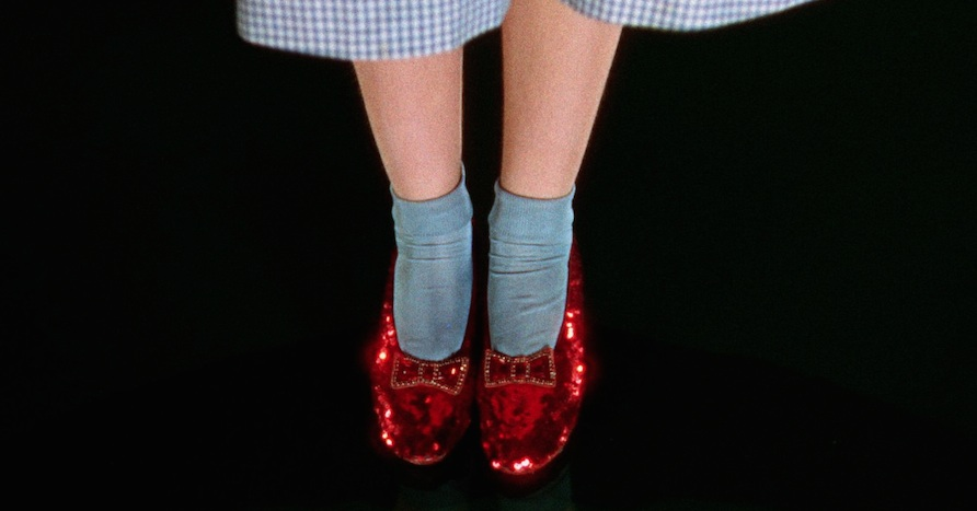 "The Smithsonian just launched a Kickstarter to save Dorothy's ruby slippers from ""The Wizard of Oz""!"