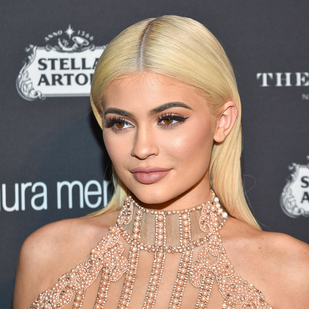 Kylie Jenner is invoking big sister Kim K's style with this corset and t-shirt lewk