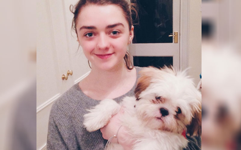 Maisie Williams' insanely cute video of her dog is the sweetest thing you'll see today