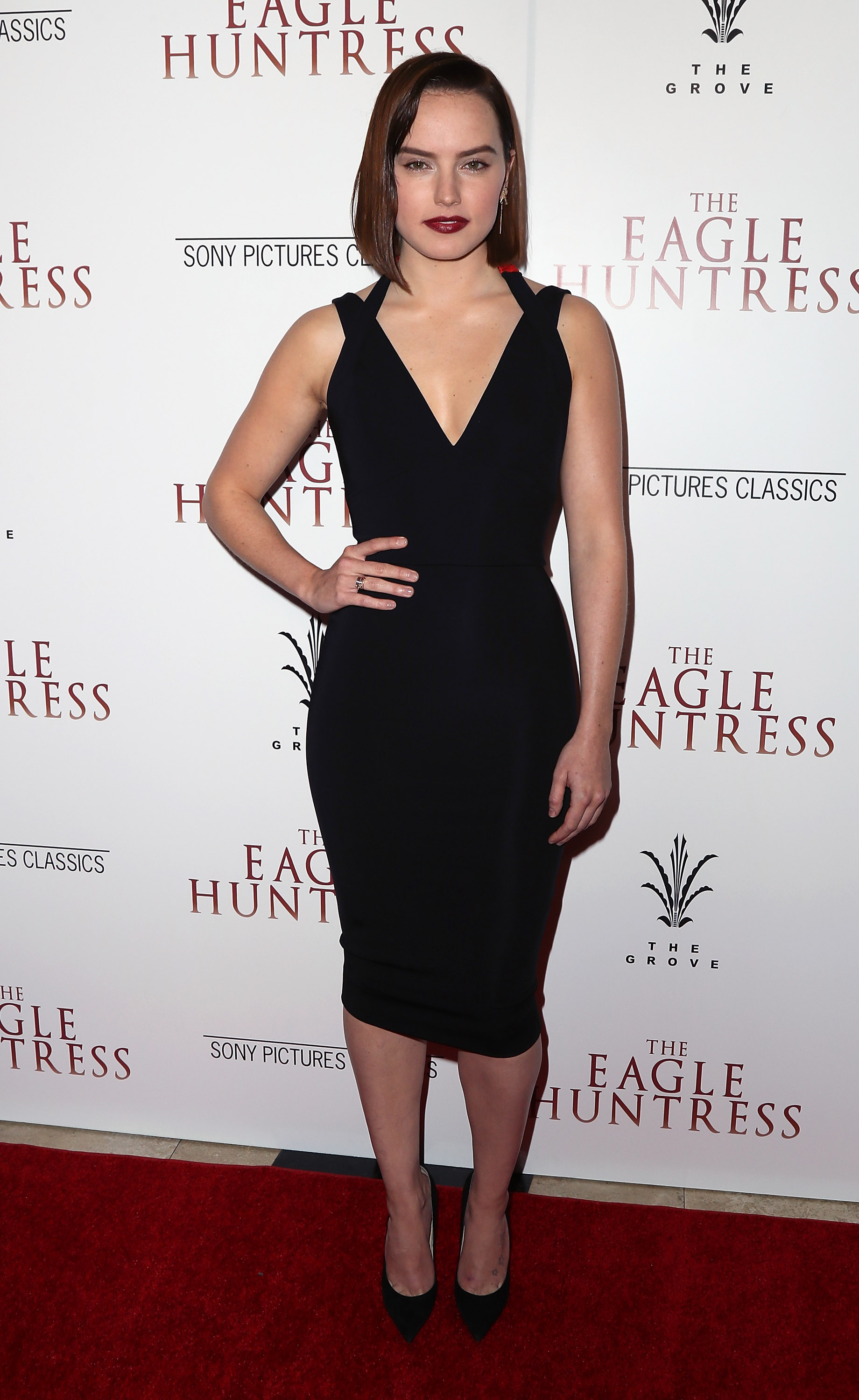 Now 10 little black dresses for - Daisy Ridley Dress