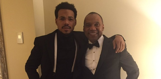 Frank Ocean and Chance the Rapper brought their parents to the White House State Dinner, and, melt