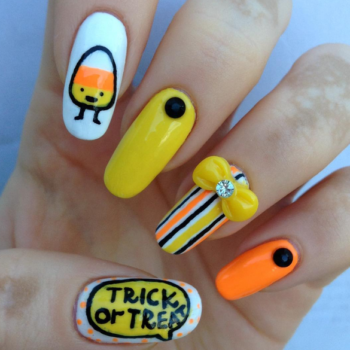 These 10 scary awesome Halloween-themed nails will get you into the spooky spirit