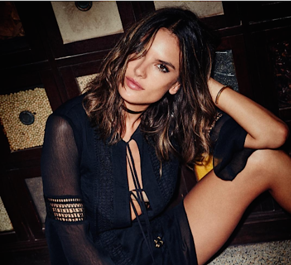 Alessandra Ambrosio collaborated with Revolve on the coolest clothing line