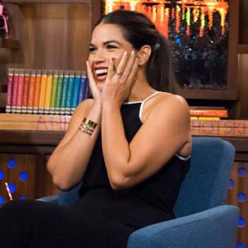 Lena Dunham basically just said that America Ferrera wants to run for president one day and we are HERE FOR IT
