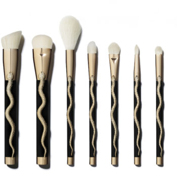 """Our gothic hearts are swooning over these new """"Beetlejuice"""" and Medusa-themed Sonia Kashuk brush sets"""