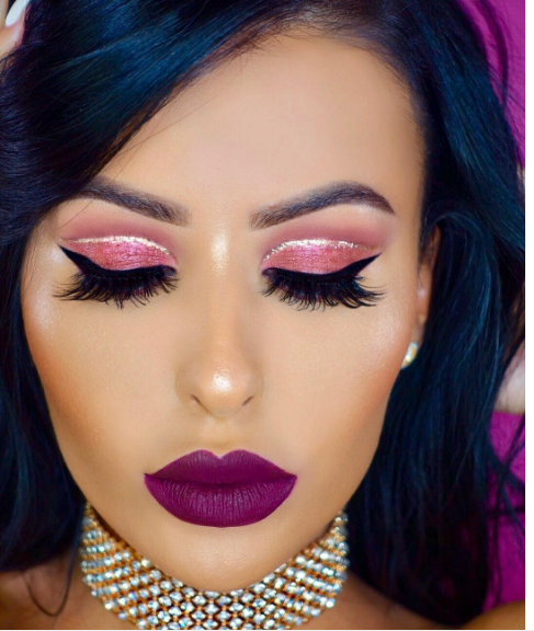 Kylie Cosmetics' Burgundy palette comes out today, so here's how it might transform your look