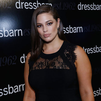 Ashley Graham's lacy LBD is the body-hugging dress of our dreams