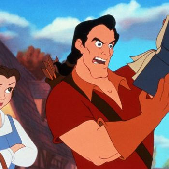 A little girl just gave Gaston a piece of her mind at Disneyland, empowering us all
