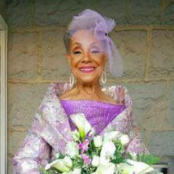 This flawless 86-year-old bride is #weddinggoals personified