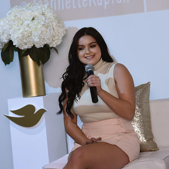 Ariel Winter talks to us about being open on social media, why it's so important to spread positivity