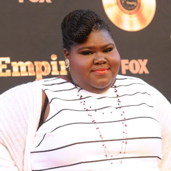 Gabourey Sidibe reacts to seeing her Lane Bryant ad with this perfect tweet