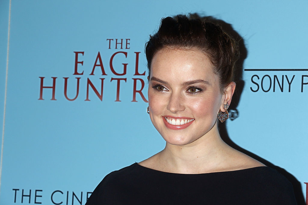 "Daisy Ridley has the nicest things to say about fellow ""Star Wars"" female star Felicity Jones"