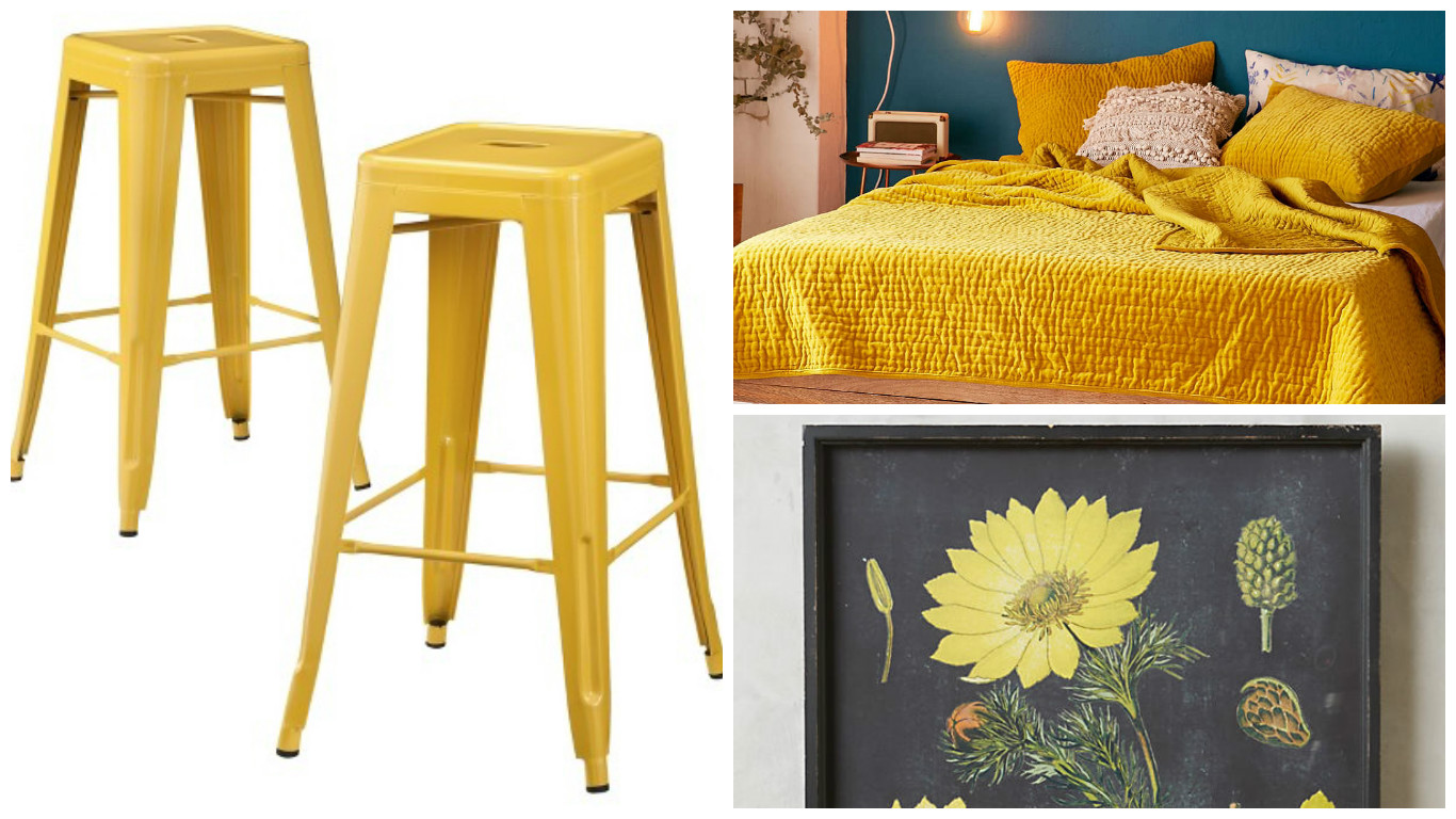 Breathe life into your apartment with these mellow shades of yellow