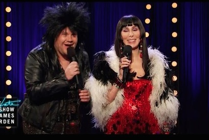 Cher and James Corden sang an epic duet, and here it is because it's Friday
