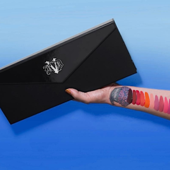 Kat Von D kindly reminds us that the Everlasting Obsession Liquid Lipstick Vault is launching soon