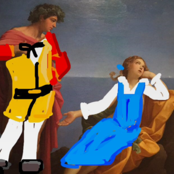 "LACMA's ""Beauty and the Beast"" and fine art mashup for SnapChat is a fairy tale dream come true"