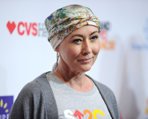 Shannen Doherty just opened up about the difficulties of staying optimistic after chemo with this Instagram photo